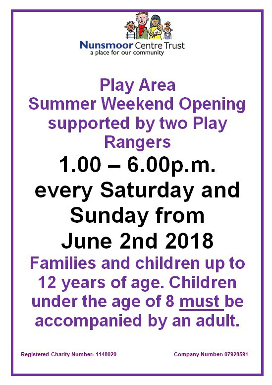 Play Area event