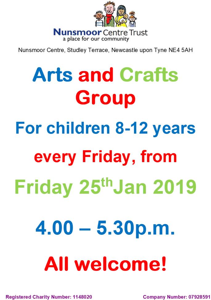 Arts & Crafts poster 2019