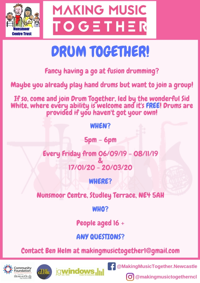 Drum Together! Poster